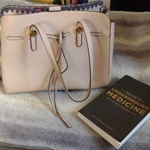 NANETTE LEPORE jet set satchel handbag purse
